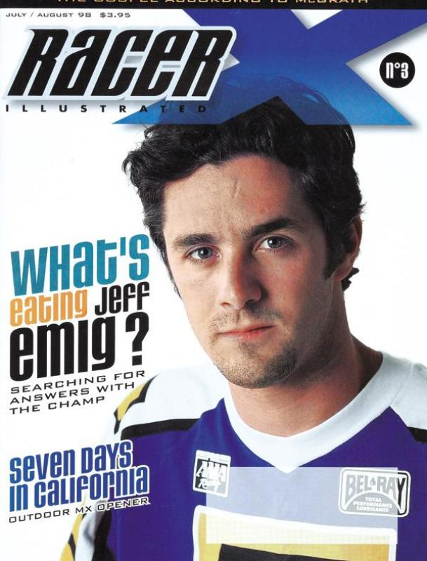 The July/August 1998 Issue - Racer X Illustrated Motocross Magazine