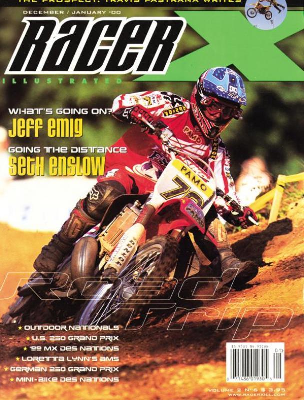 The Dec/Jan 2000 Issue - Racer X Illustrated Supercross Magazine