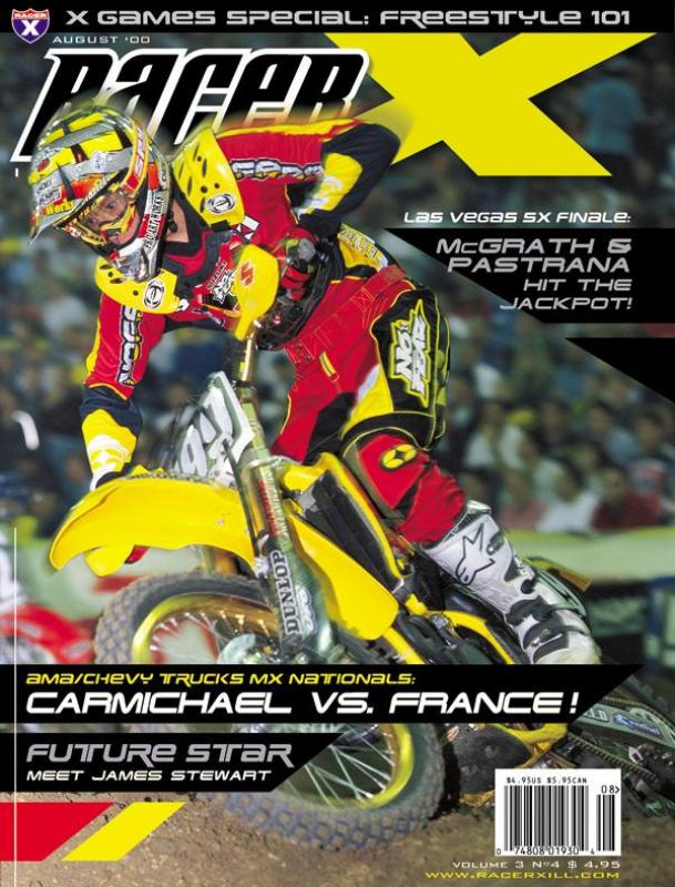 The August 2000 Issue - Racer X Illustrated Motocross Magazine