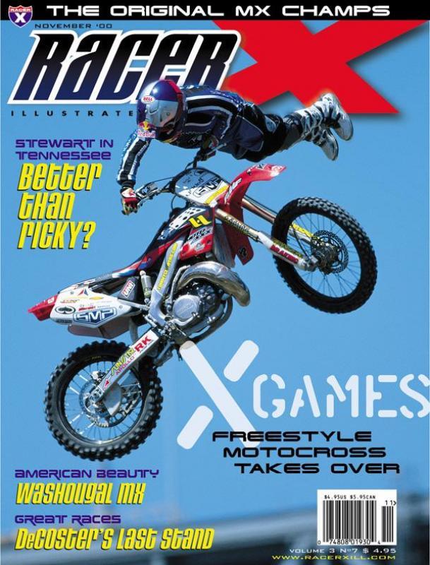 The November 2000 Issue - Racer X Illustrated Supercross Magazine