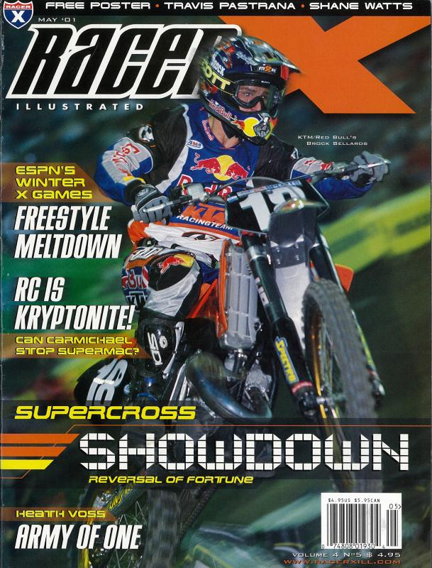 The May 2001 Issue - Racer X Illustrated Motocross Magazine