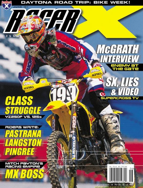 The June 2001 Issue - Racer X Illustrated Motocross Magazine