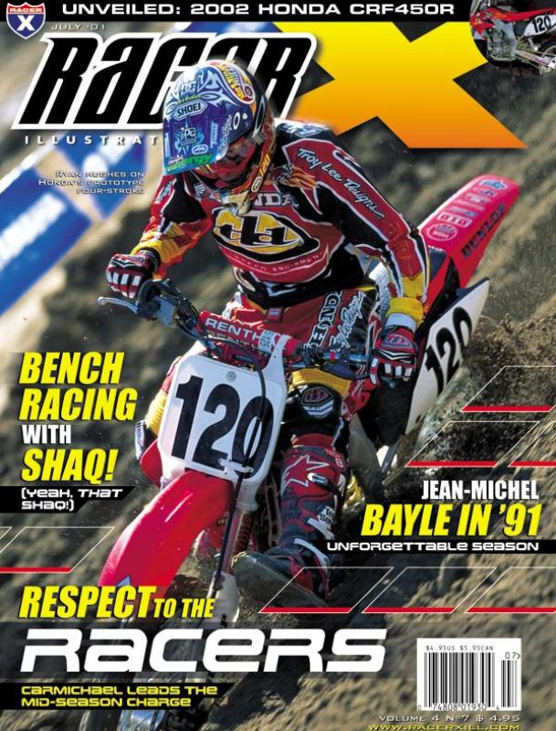 The July 2001 Issue - Racer X Illustrated Motocross Magazine