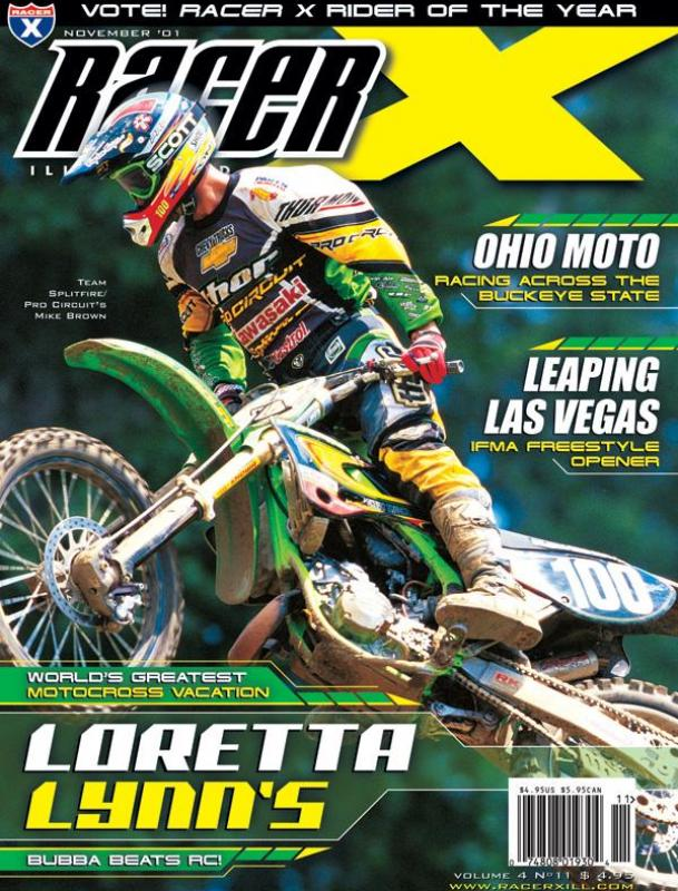 The November 2001 Issue - Racer X Illustrated Supercross Magazine