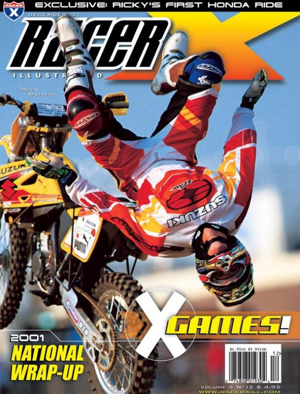The December 2001 Issue - Racer X Illustrated Supercross Magazine