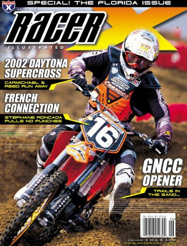 The June 2002 Issue - Racer X Illustrated Motocross Magazine
