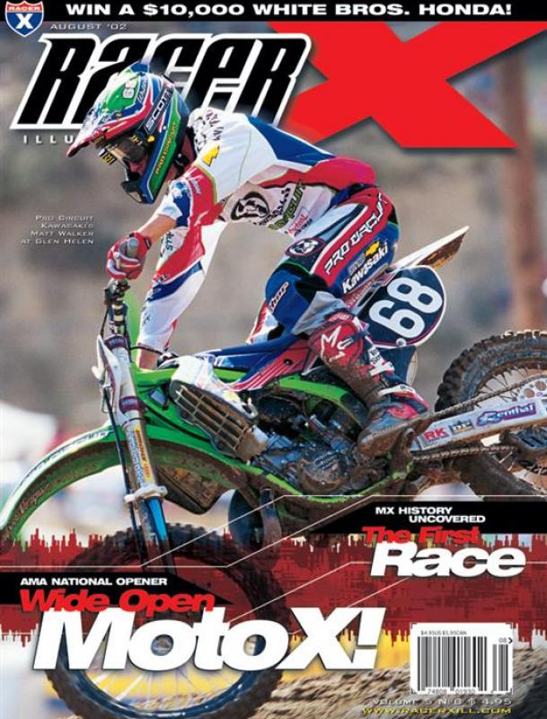 The August 2002 Issue - Racer X Illustrated Motocross Magazine
