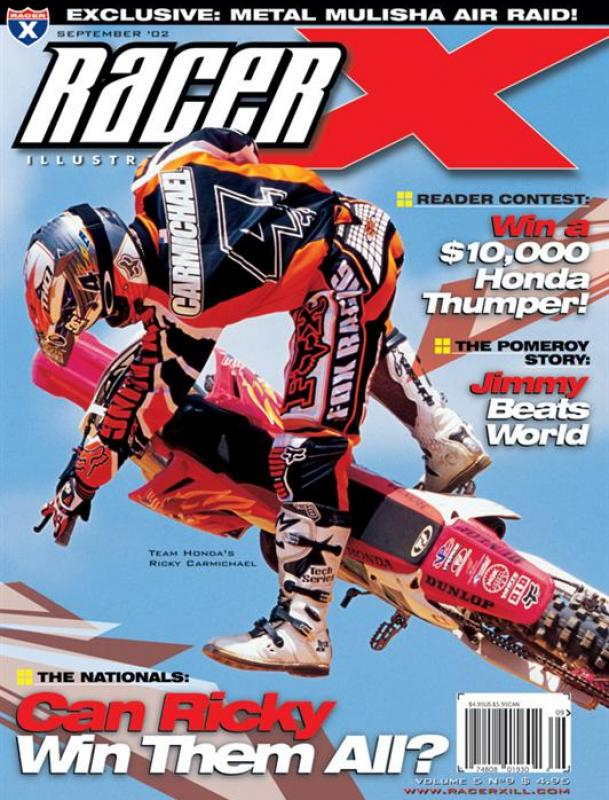 The September 2002 Issue - Racer X Illustrated Motocross Magazine