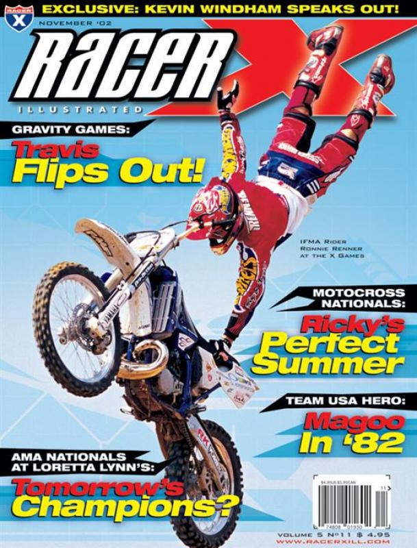 The November 2002 Issue - Racer X Illustrated Supercross Magazine