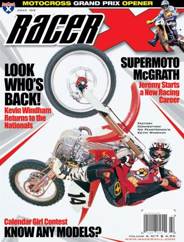 The July 2003 Issue - Racer X Illustrated Motocross Magazine