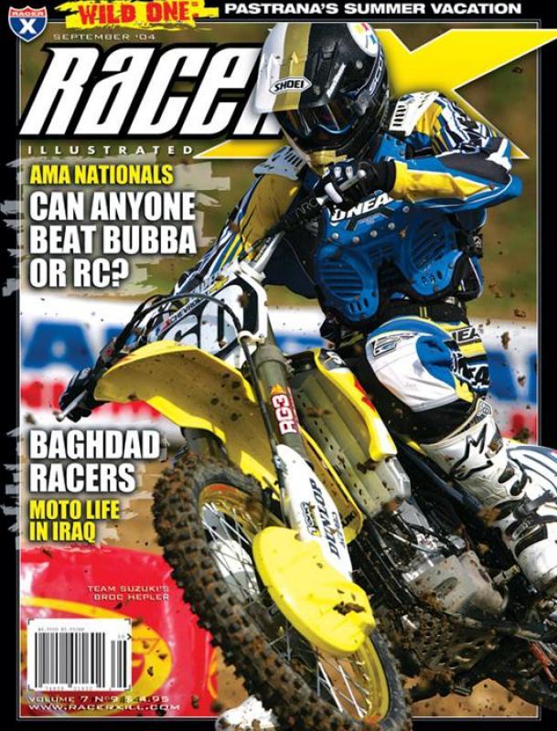 The September 2004 Issue - Racer X Illustrated Motocross Magazine