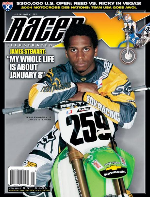The January 2005 Issue - Racer X Illustrated Supercross Magazine