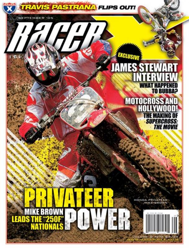 The September 2005 Issue - Racer X Illustrated Motocross Magazine