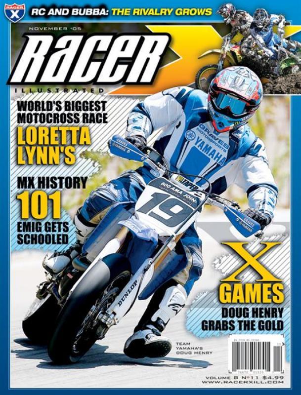 The November 2005 Issue - Racer X Illustrated Supercross Magazine