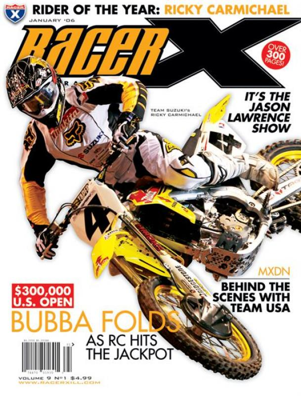The January 2006 Issue - Racer X Illustrated Supercross Magazine