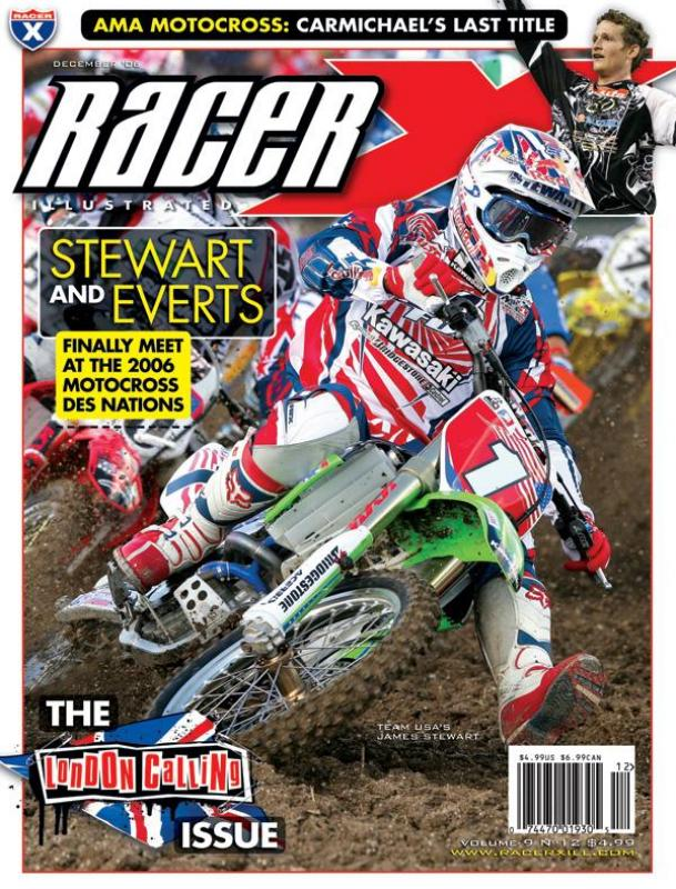 The December 2006 V1 Issue - Racer X Illustrated Supercross Magazine