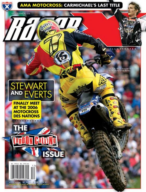 The December 2006 V2 Issue - Racer X Illustrated Supercross Magazine