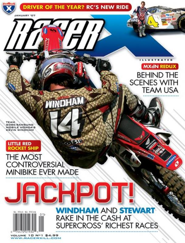 The January 2007 Issue - Racer X Illustrated Supercross Magazine
