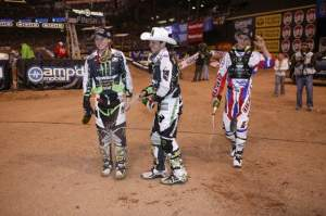 It was a great night for the Monster Energy/Pro Circuit Kawasaki team!