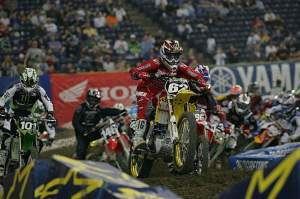 Makita Suzuki's Ryan Dungey won convincingly in Indy this weekend.