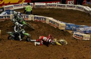 This mistake possibly cost Makita Suzuki's Ryan Dungey another win.