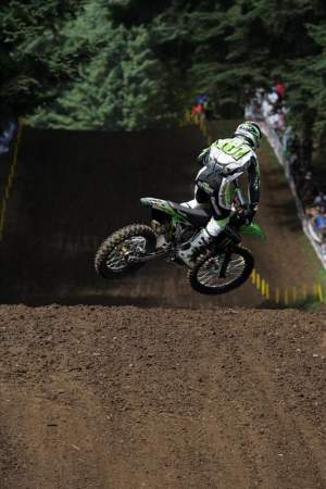 Ben Townley keeps finding ways to come out on top in his battle with rival Ryan Villopoto.