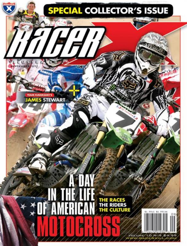 The September 2007 Issue - Racer X Illustrated Motocross Magazine
