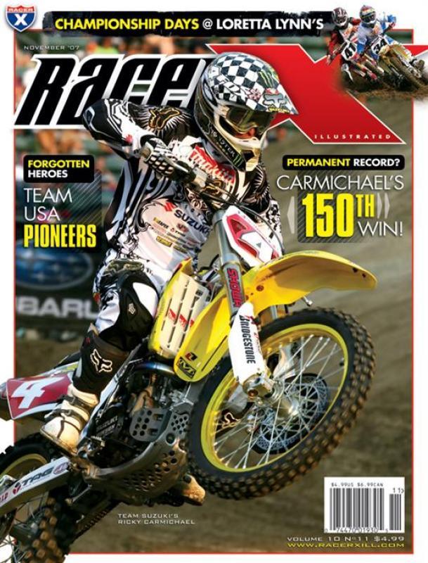 The November 2007 Issue - Racer X Illustrated Supercross Magazine