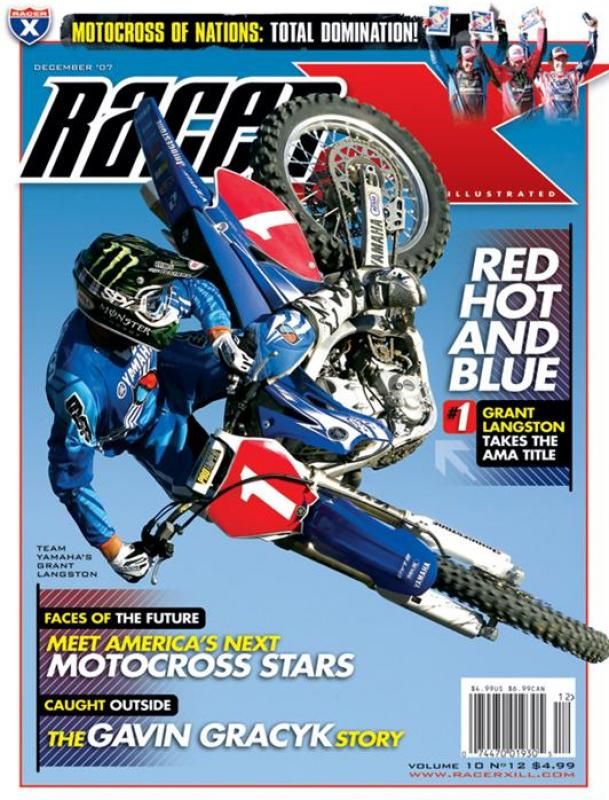 The December 2007 Issue - Racer X Illustrated Supercross Magazine