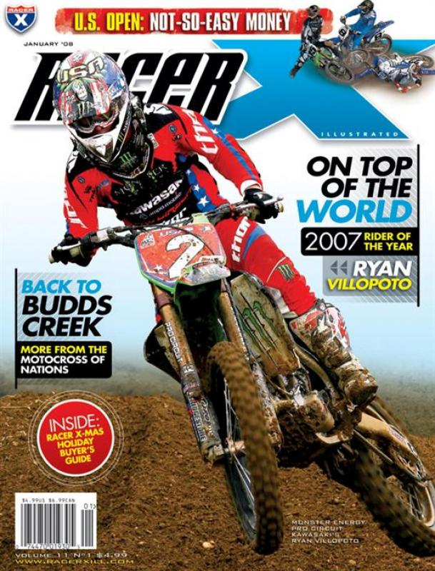 The January 2008 Issue - Racer X Illustrated Supercross Magazine