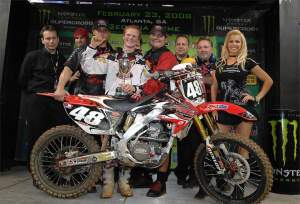 Trey Canard came out swinging as a professional supercross racer.