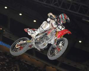 Trey Canard's saw his points lead go from 17 to 3 in Detroit.