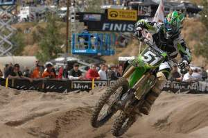 Austin Stroupe got his first AMA National win