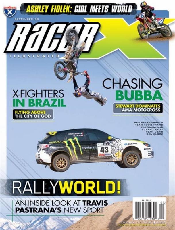 The September 2008 Issue - Racer X Illustrated Motocross Magazine