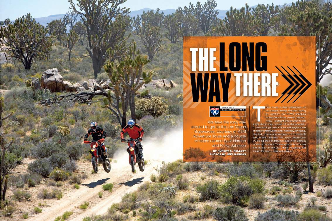 En route to the Las Vegas