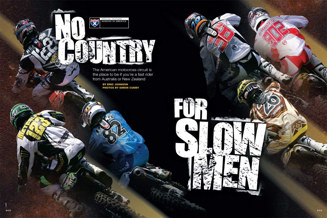 No Country for Slow Men