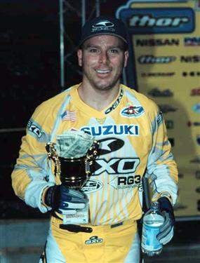Buddy Antunez during his Arenacross days