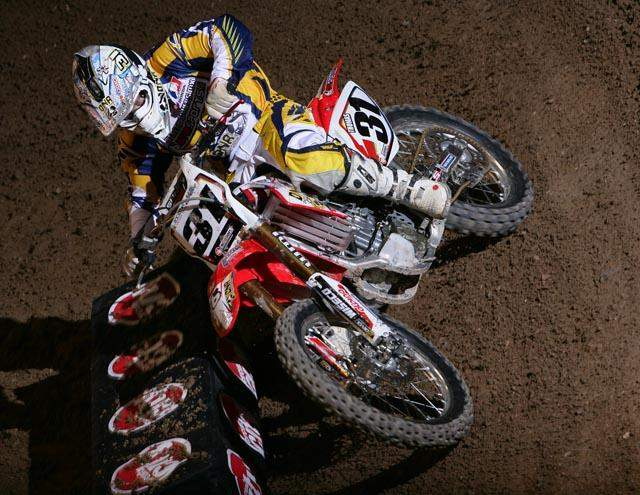 Thomas was really beginning to hit full stride in his supercross career during this time in his career. He carried his lowest number yet in 2006, #31, and rode strong enough to keep it through the 2007 season.
