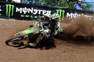 Brett Metcalfe finished third at Southwick