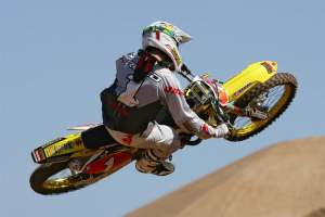 The captain of the Rest of the World? Chad Reed.