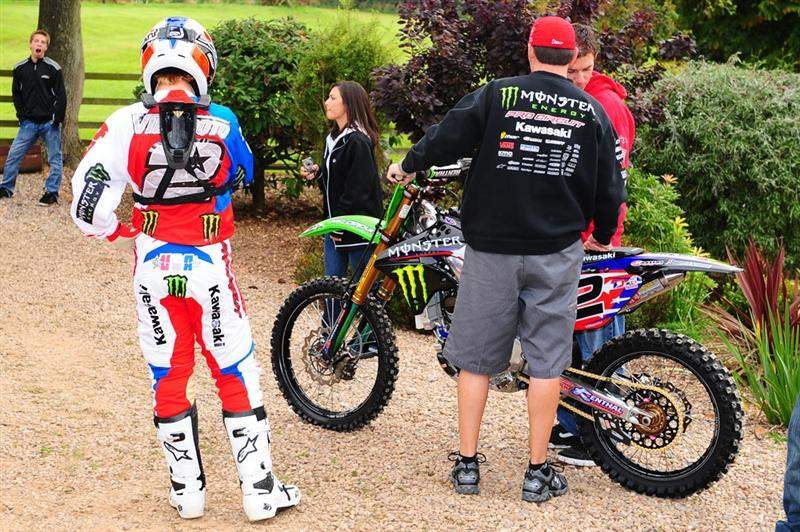 Ryan Villopoto is ready to go for his last 250F event.