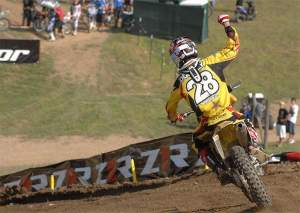 Ryan Dungey won three of the last four Lites rounds, including a superb 1-1 at Steel City.