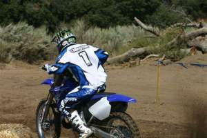 Grant Langston on the 2009 Yamaha YZ250