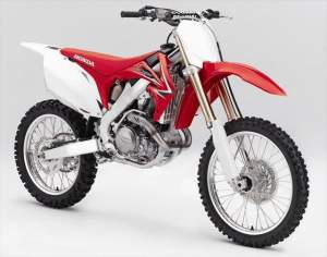 Here's the all-new Honda CRF450R, which Honda released today.