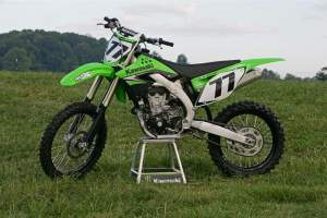 The 2009 Kawasaki KX450F
