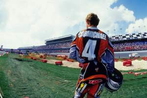 No way RC could have known seven years later he would win titles on a Honda and a Suzuki. Or that he would be racing a car at Daytona.