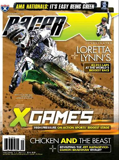The November 2008 Issue - Racer X Illustrated Motocross Magazine