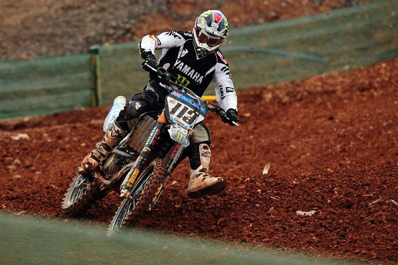 Josh Coppins had his best ride of the weekend in the final moto, finishing sixth.