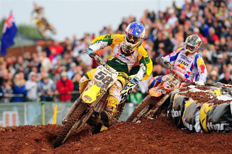 Chad Reed enjoyed battling with some old competitors and finished eighth