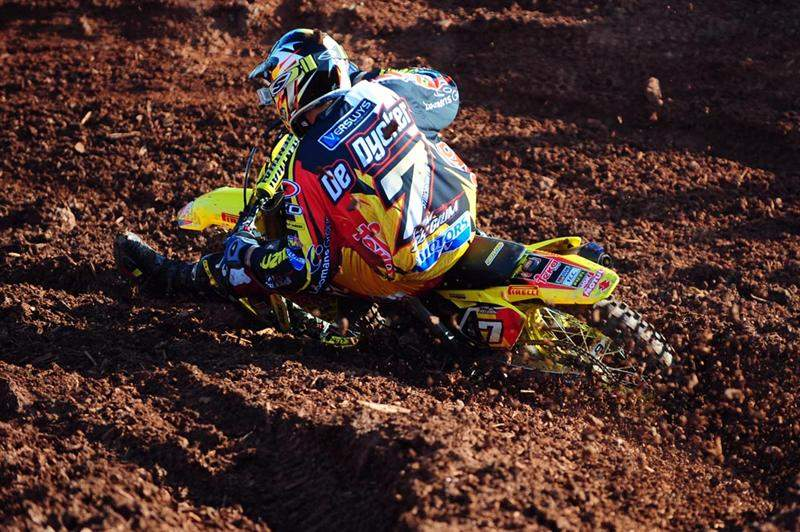 Ken de Dycker led the Belgium team with a third in the MX1 qualifier